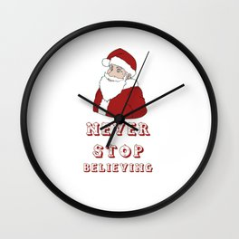 Never Stop to believing Wall Clock