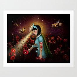 Oblivion: Anthophila I Art Print