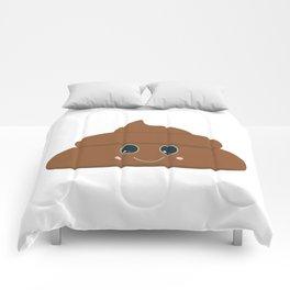Happy poo Comforters