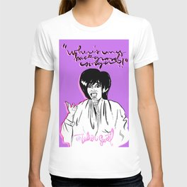 """Patti Ms Labelle """"Where's My Background Singers""""Illustrastion T-shirt"""