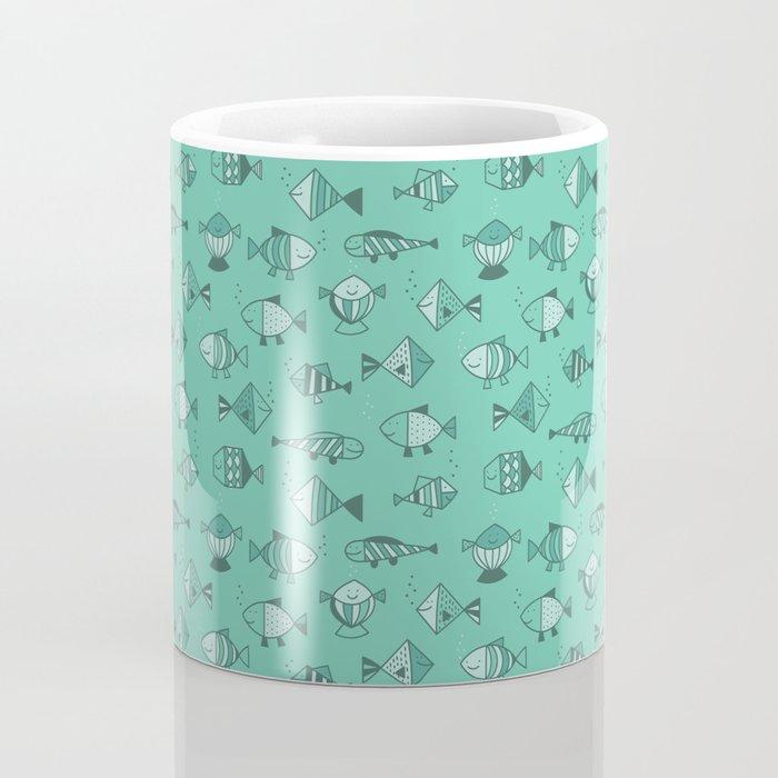 Geometric fish Coffee Mug