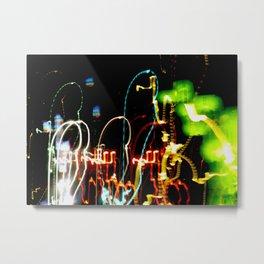 Hotel Light Painting Metal Print