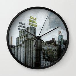 When Flour was King Wall Clock