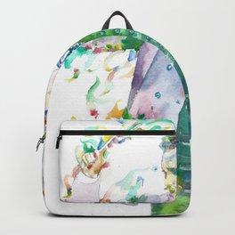 RICHARD STRAUSS - watercolor portrait.1 Backpack