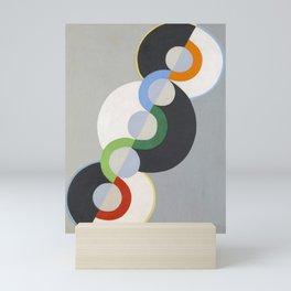 """Robert Delaunay """"Rythme sans fin"""" (Endless rhytme)"""" Mini Art Print"""