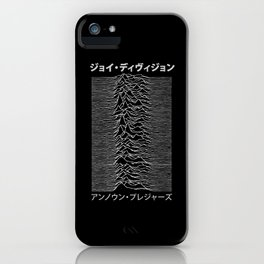 Unknown Pleasures iPhone Case