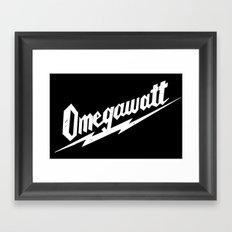 Omegawatt Framed Art Print