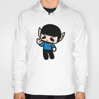 spock Hoodies featuring Spock by Ziqi
