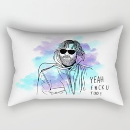 Artic Fear  Rectangular Pillow