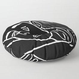 She's a Cool Girl Floor Pillow