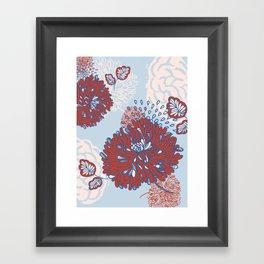 Crisantemo Framed Art Print