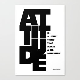 Lab No. 4 - Life Inspirational Quotes Of Attitude Inspirational Quotes Poster Canvas Print