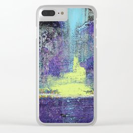 Howling at the Moon Clear iPhone Case