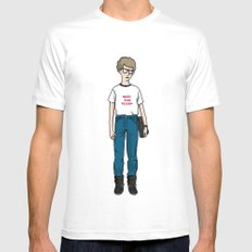 Napoleon Dynamite MEDIUM White Mens Fitted Tee