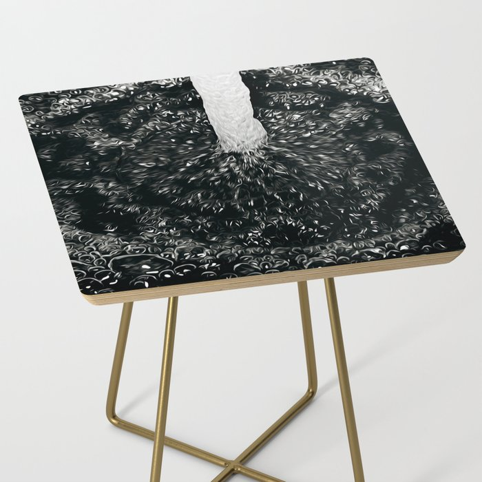 Faucet Side Table