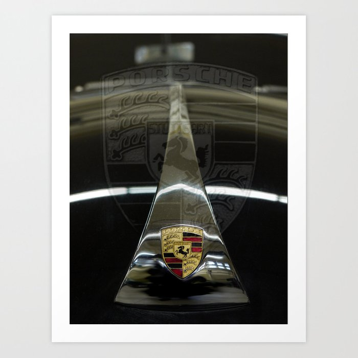 Tribute to the Legendary 356 Art Print