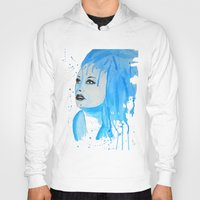 elsa Hoodies featuring elsa by Laurie Art Gallery