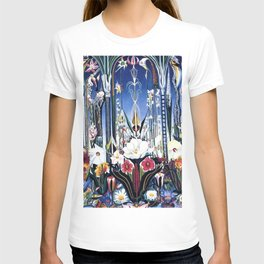 Flowers, Italy by Joseph Stella T-shirt