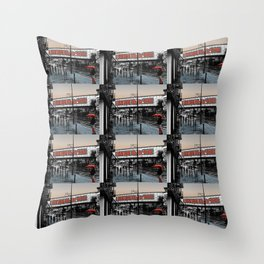 Camden Lock  Throw Pillow
