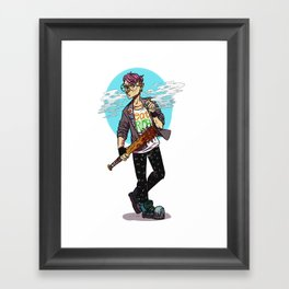 Kid Omega Framed Art Print
