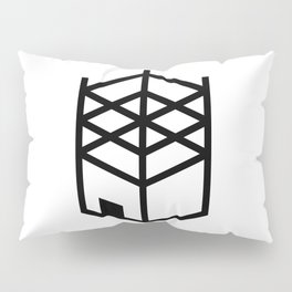 Building in Construction Pillow Sham