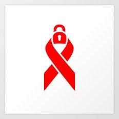 Be Safe - World Aids Day Art Print