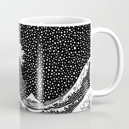 The wave of Kanagawa. Hokusai Coffee Mug