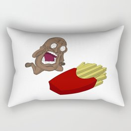 Tragic Potato Rectangular Pillow