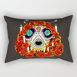 lupe calavera Rectangular Pillow