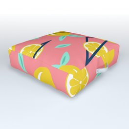Lemons party #society6 #decor #buyart Outdoor Floor Cushion