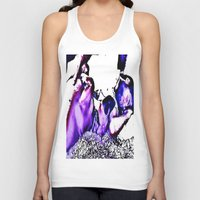 cuddle Tank Tops featuring Cuddle Monster by Fknjedi1