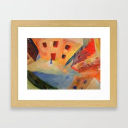 """Still From Animation """"A Journey to Recovery"""" Framed Art Print"""