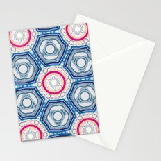 microdefender of salt Stationery Cards