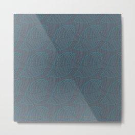 Tessellated Nature Metal Print