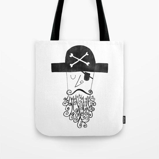 smug pirate Tote Bag