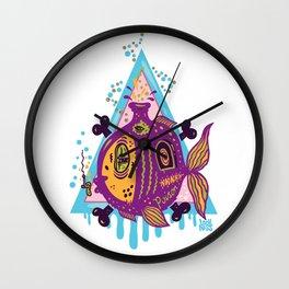 Fisherman's Friend Wall Clock