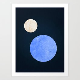 Cosmic space V Art Print