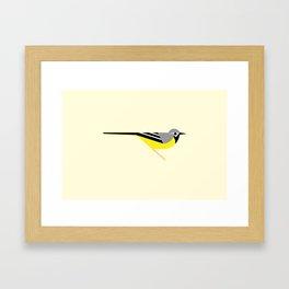 Grey Wagtail Framed Art Print