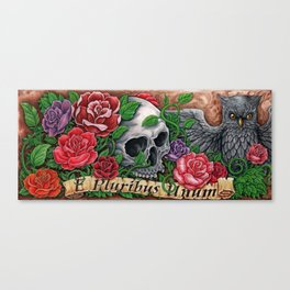 Unity In Death Canvas Print