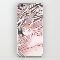 sylveon iPhone & iPod Skins featuring Sylv by Weissidian