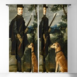 "Diego Velázquez ""Portrait of the Cardinal-Infante Fernando de Austria"" Blackout Curtain"