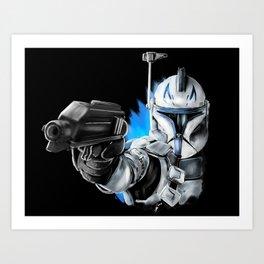 Rex...Captain Rex Art Print