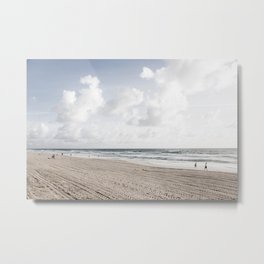 Clouds in Paradise Metal Print