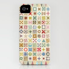 Jane's Addiction to Quilting iPhone (4, 4s) Slim Case