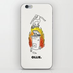 Skate and Destroy: Ollie iPhone & iPod Skin
