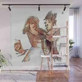 Los Caprichos ~ 5 ~ Two of a Kind Wall Mural
