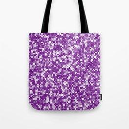 Winterberry Pixels Tote Bag