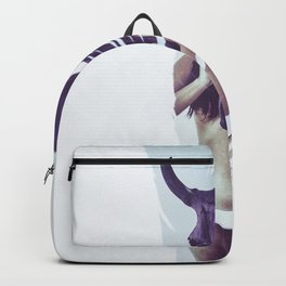 soft feather Backpack