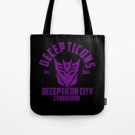 Decepticons  Tote Bag