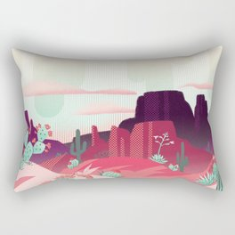 Desert Canyon (1) Rectangular Pillow